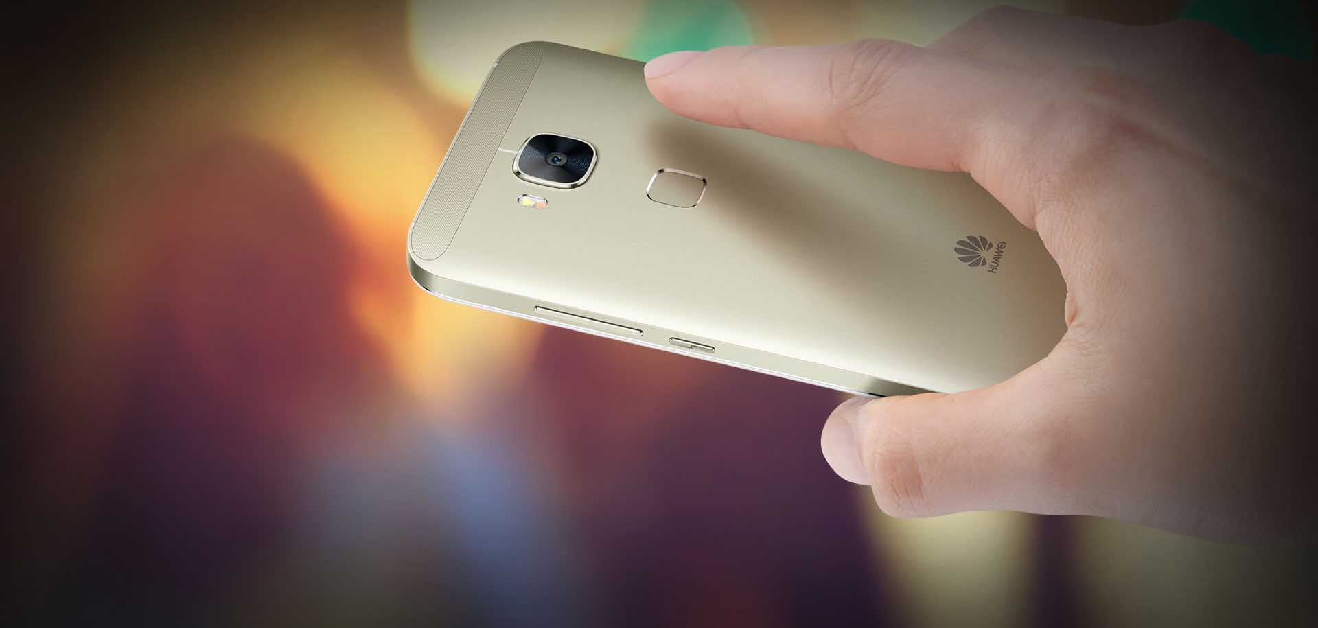 Huawei G8 Dual Sim 4G Gold Your Finger, Your Smartphone