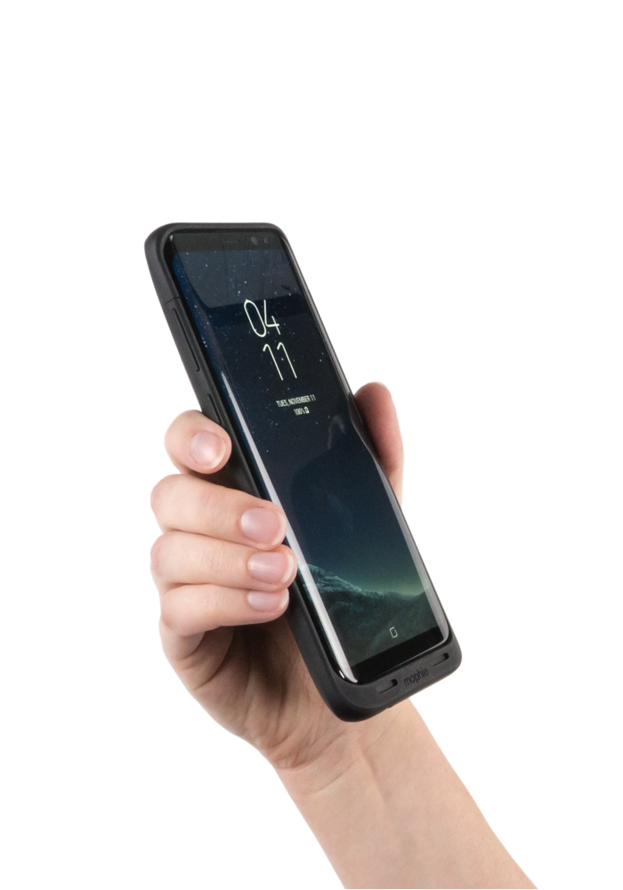 reputable site ac745 65540 Mophie Juice Pack Black Case For Galaxy S8