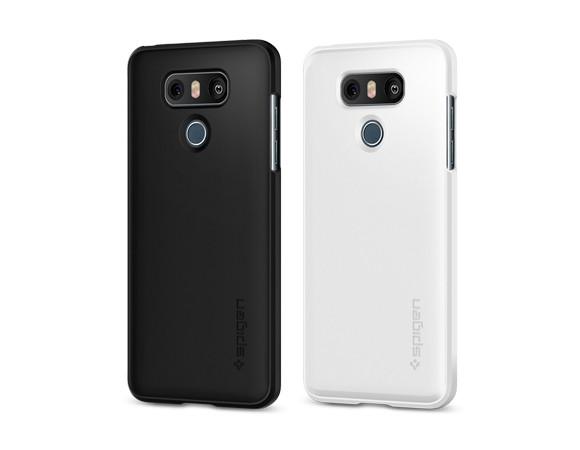 pretty nice bcaad 63d0c Spigen Thin Fit Black Case For LG G6