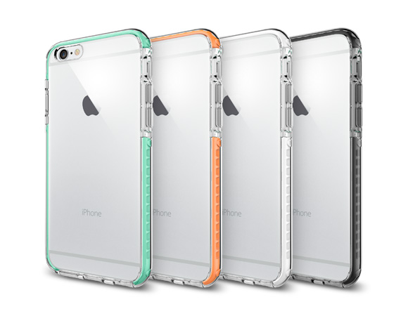 buy popular ccf2c 705ab Spigen Ultra Hybrid TECH Crystal Black Case For iPhone 6s