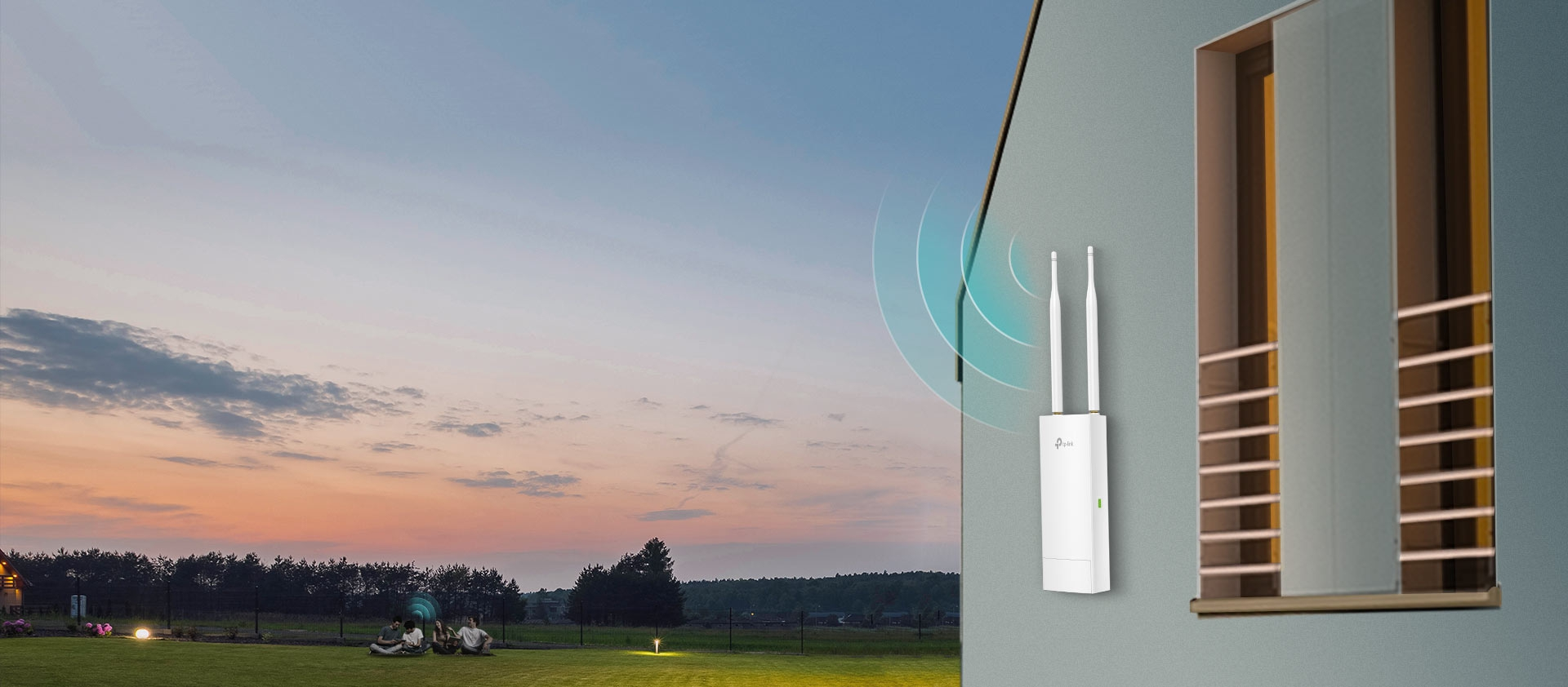 TP-Link 300Mbps Wireless N Outdoor Access Point (CAP300-Outdoor)