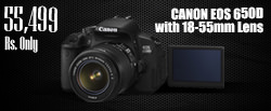 DSLR Camera Right Banner