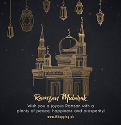 Ramzan Mubarak by Team iShopping.pk